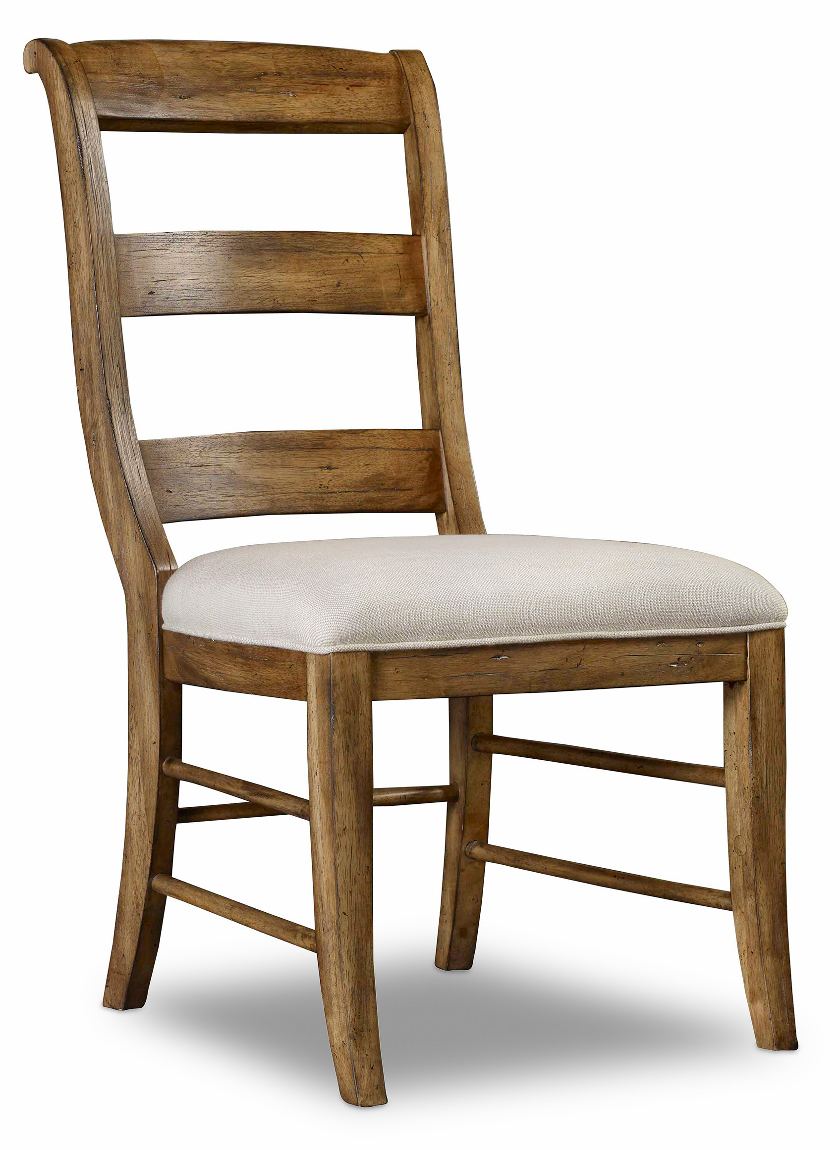 Hamilton Home Sentinel: Toffee Ladderback Side Chair - Item Number: 5447-75710-TOFFEE