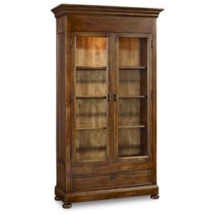 Hamilton Home Sentinel: Pecan Display Cabinet