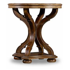 Hamilton Home Sentinel: Pecan Round End Table