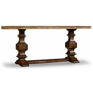 Hamilton Home Sentinel: Pecan Console Table