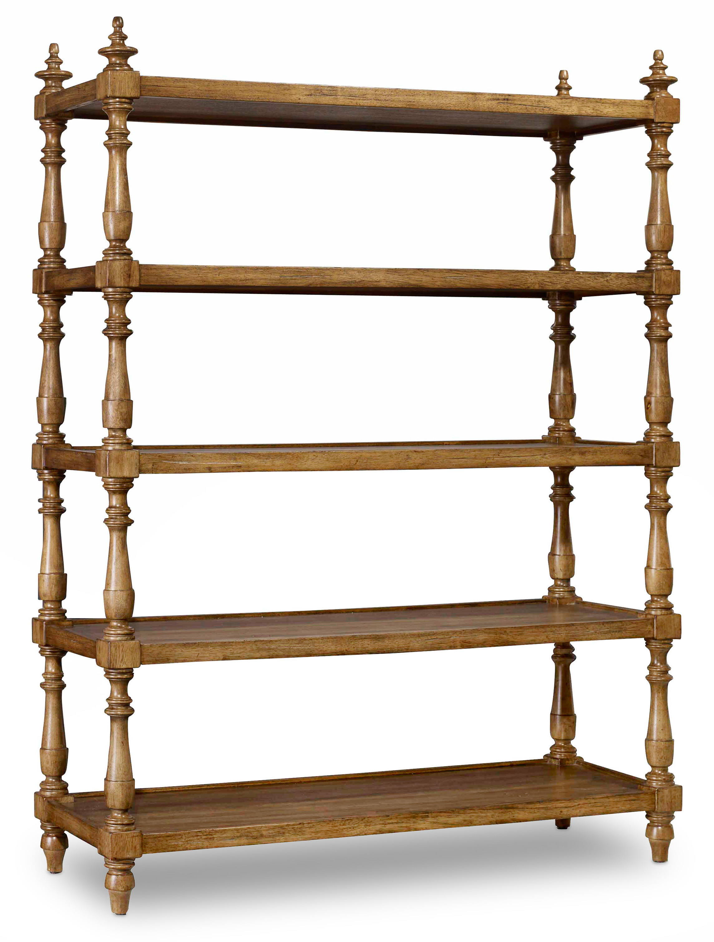 Hamilton Home Sentinel: Toffee Accent Etagere - Item Number: 5447-85003A-TOFFEE
