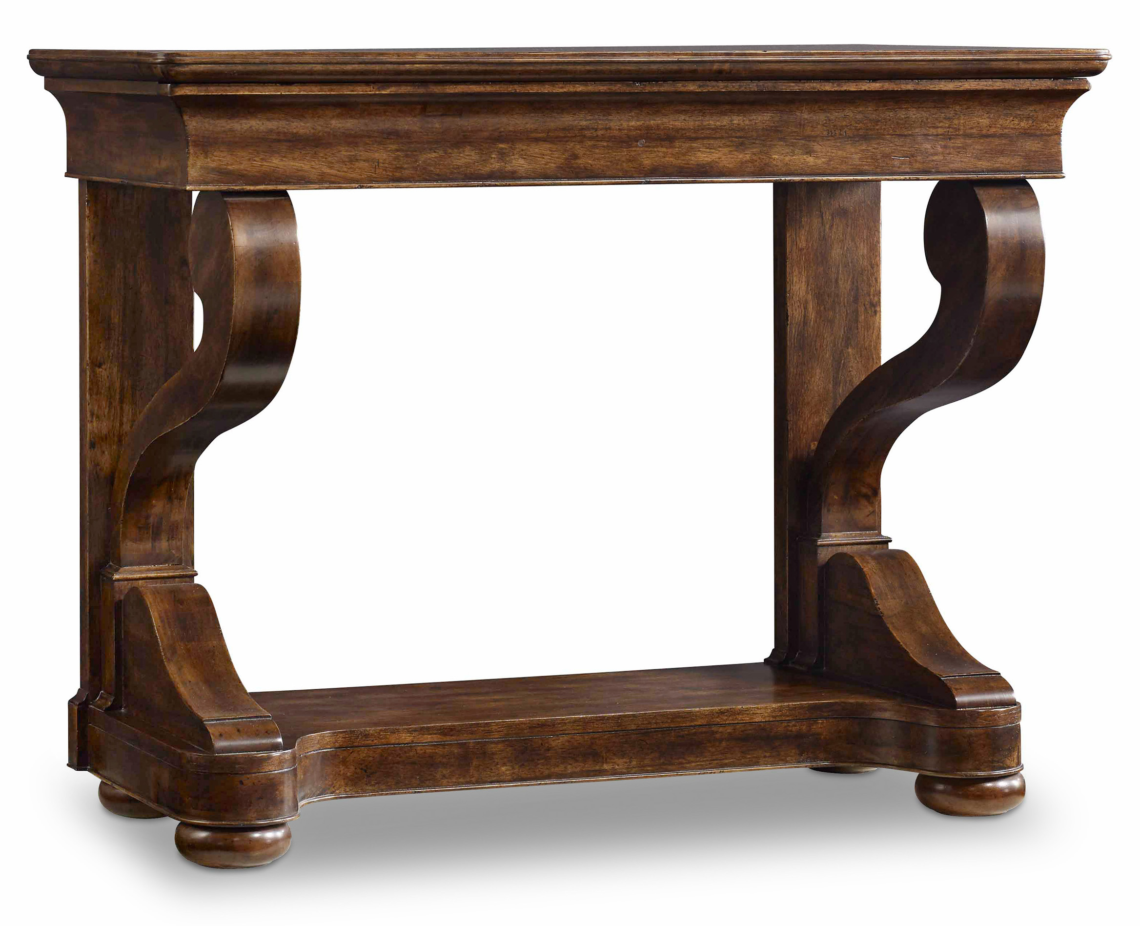Hooker Furniture Archivist Scroll Leg Consulate Table - Item Number: 5447-85006