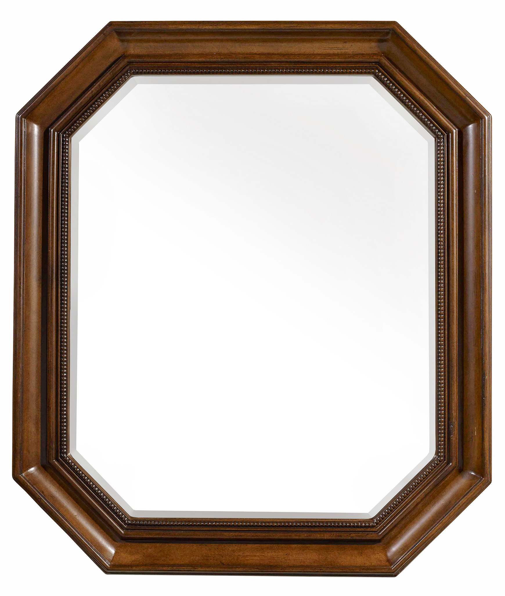 Hamilton Home Sentinel: Pecan Portrait Mirror - Item Number: 5447-90008