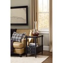 Hooker Furniture Ashton Chairside Table with Maple Finished Top