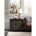 Hooker Furniture Auberose Lateral File with 2 File Drawers