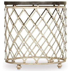 Hooker Furniture Auberose Drum Table