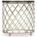 Hooker Furniture Auberose Drum Table - Item Number: 1595-50003-MULTI