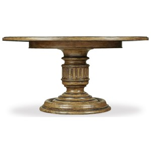 Hamilton Home Auberose 60 Inch Round Pedestal Table