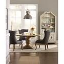 Hooker Furniture Auberose 60 Inch Round Pedestal Table