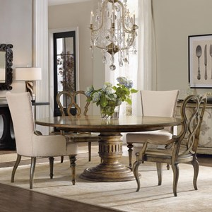 Hamilton Home Auberose 5 Piece Dining Set