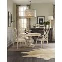 Hooker Furniture Auberose Splatback Wood Seat Arm Chair