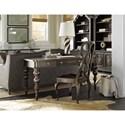 Hooker Furniture Auberose Splatback Wood Seat Side Chair