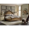 Hooker Furniture Auberose Bureau with Six Drawers