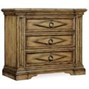 Hooker Furniture Auberose Three-Drawer Bachelors Chest - Item Number: 1595-90017-BRN