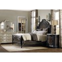 Hooker Furniture Auberose Queen Bedroom Group - Item Number: 1595LTBK Q Bedroom Group 1