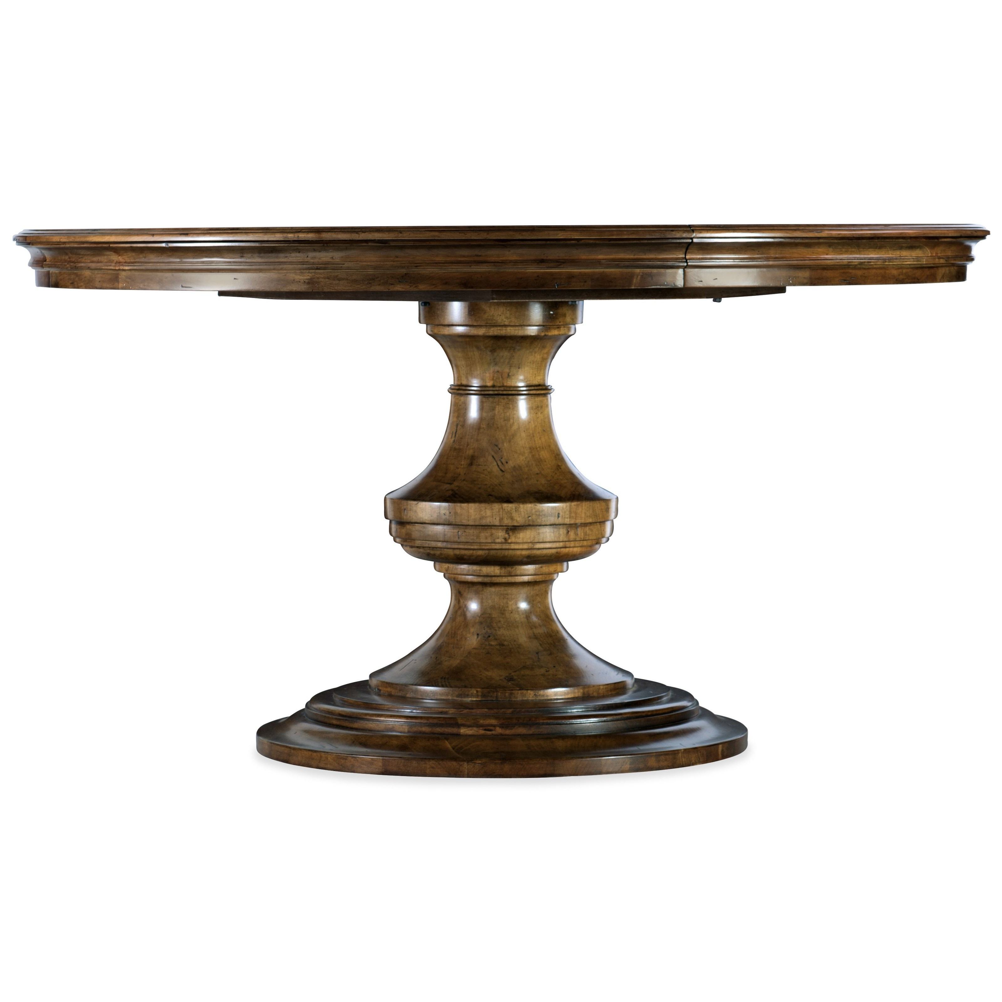 Ballantyne Round Dining Table w/1-18in  by Hooker Furniture at Baer's Furniture