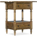 Hooker Furniture Ballanthyne Drop Leaf Telephone Table - Item Number: 5840-90115-80