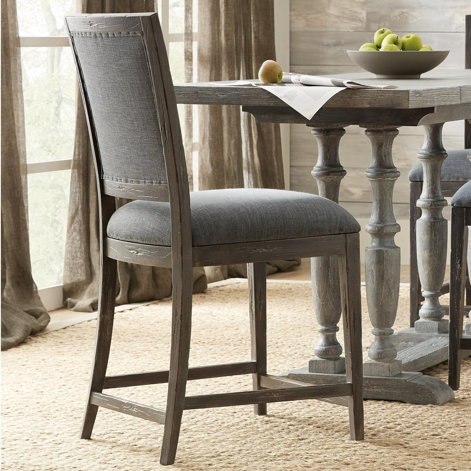 Hooker Furniture Beaumont Relaxed Vintage Counter Stool