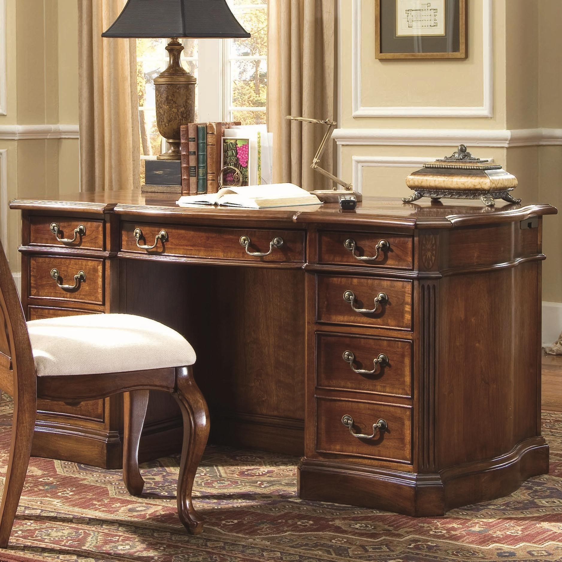 Hamilton Home Belle Grove Belle Grove 60-Inch Desk - Item Number: 060-10-460