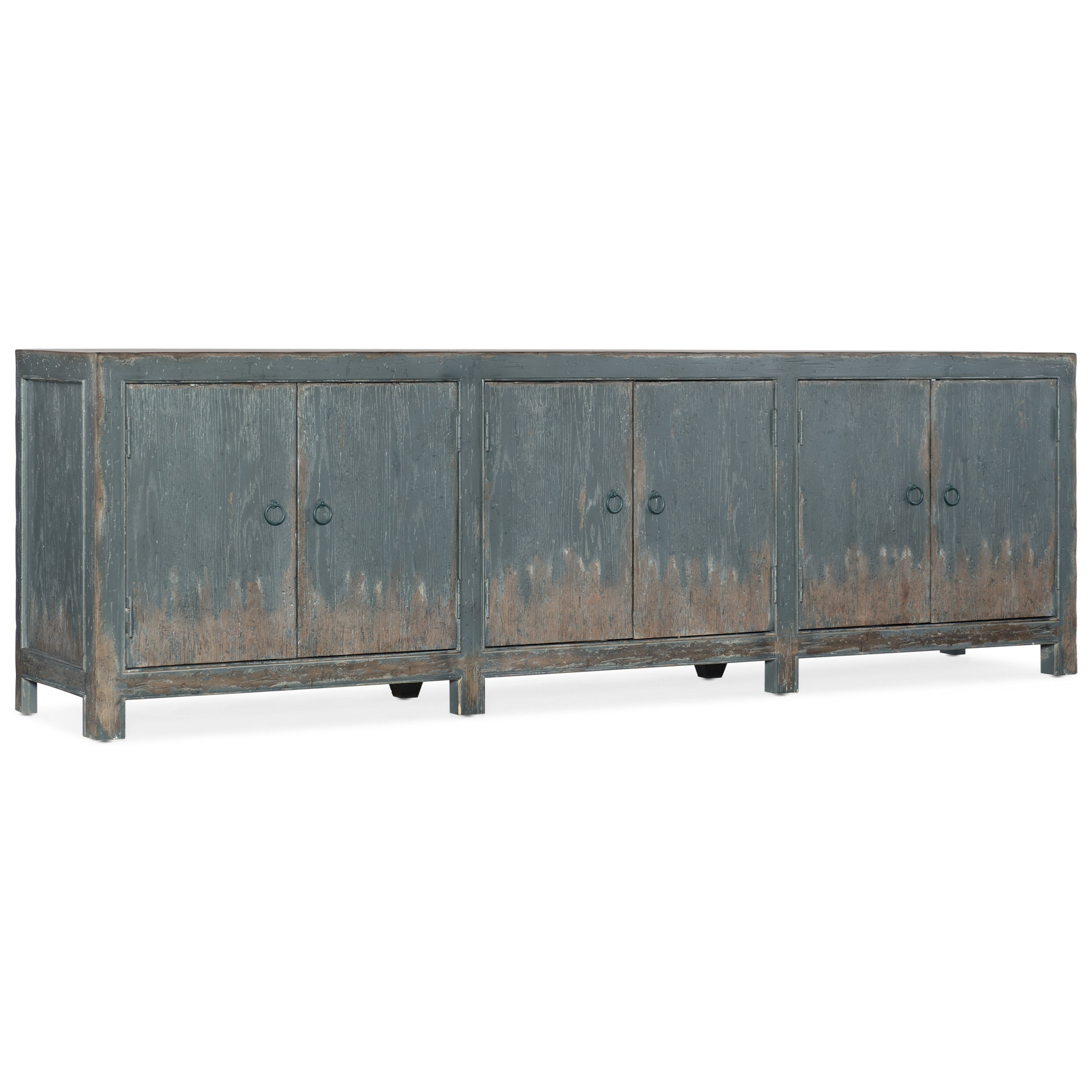 Boheme Salvator Media Console by Hooker Furniture at Stoney Creek Furniture