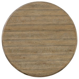 Hamilton Home Boheme Ascension 60in Wood Round Dining Table