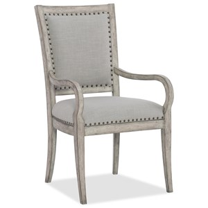Hooker Furniture Boheme Vitton Upholstered Arm Chair
