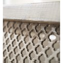 Hooker Furniture Boheme Belvue Linen Wrapped Console