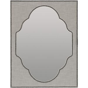 Hooker Furniture Boheme Nourmand Linen Wrapped Mirror