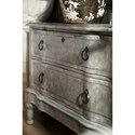 Hooker Furniture Boheme Bachelors Chest with Metal Ring Pulls