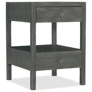 Hooker Furniture Boheme Brussels Two-Drawer Nightstand