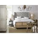 Hooker Furniture Boheme Bon Vivant De-Constructed California King Upholstered Bed