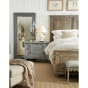 Hooker Furniture Boheme Laurier Queen Panel Bed