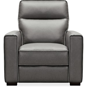 Leather Recliner w/ Power Headrest