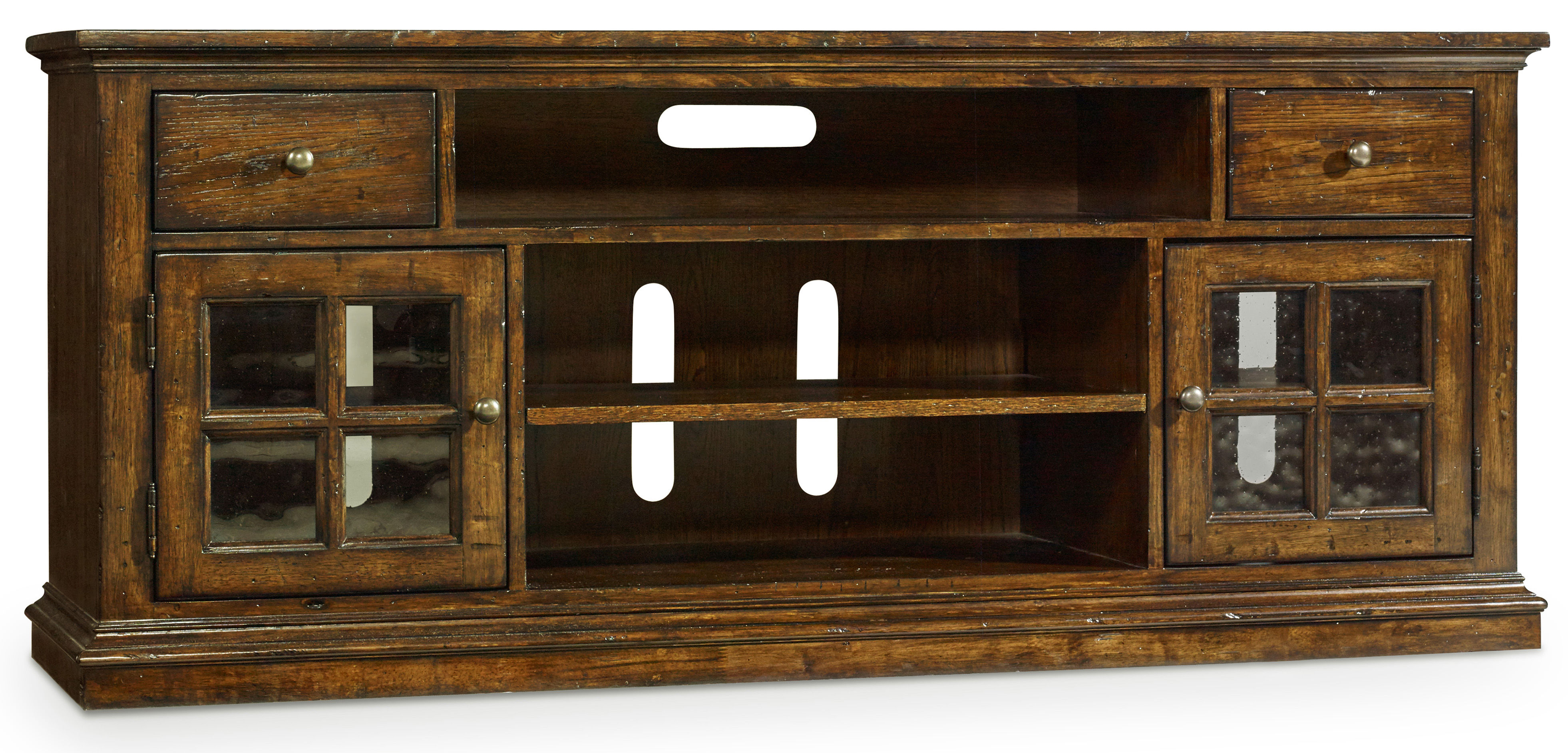 Hooker Furniture Brantley Entertainment Console - Item Number: 5302-55466