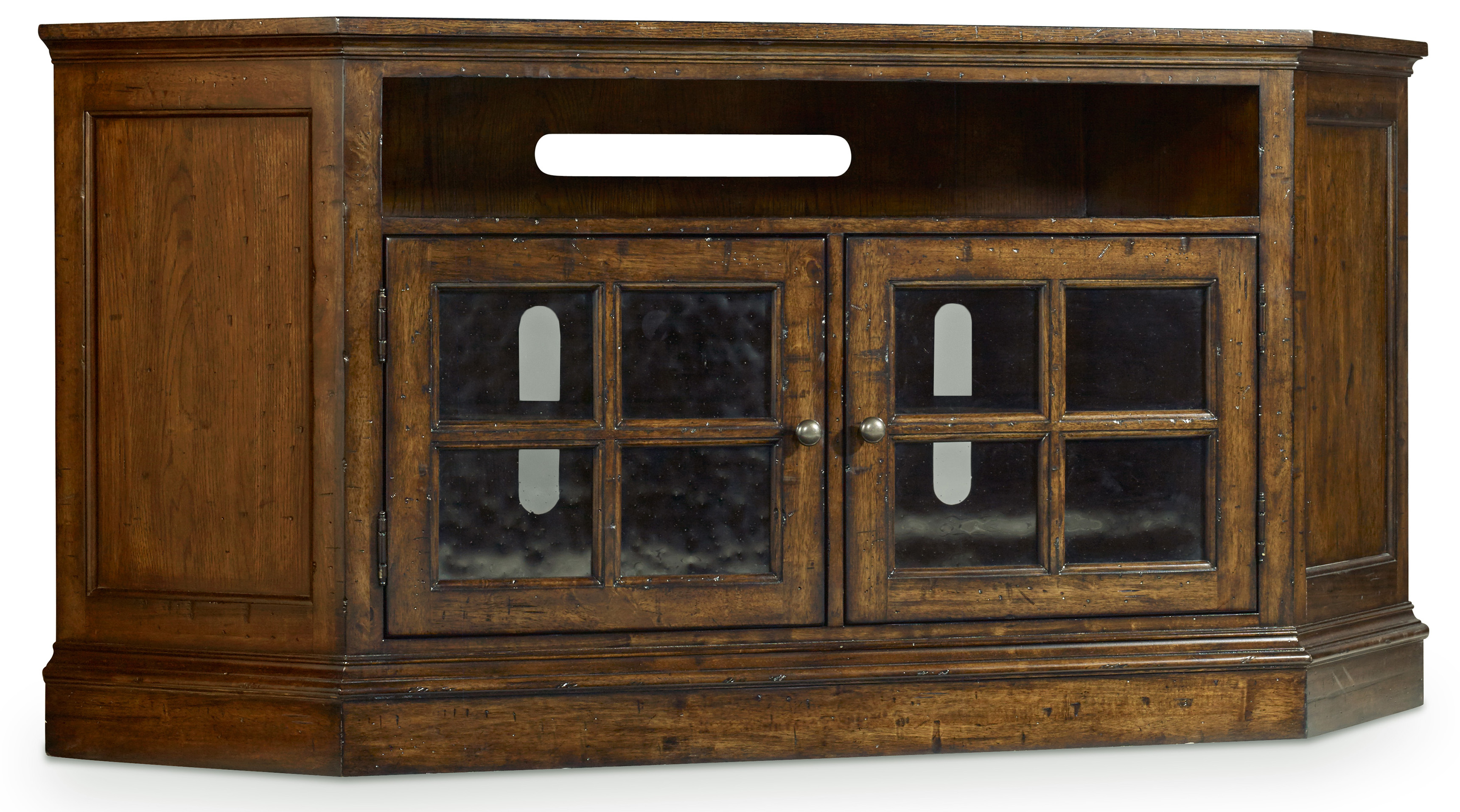 Hooker Furniture Brantley Corner Entertainment Console - Item Number: 5302-55488