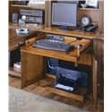 Hamilton Home Brookhaven Two Door & One Drawer Computer Desk - A Drop-Front Drawer, Tower Compartment, and Printer Compartment with Pullout Shelf Helps Keep You Work Space Neatly Contained