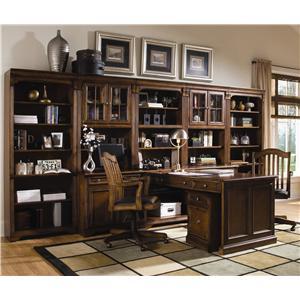 Hooker Furniture Brookhaven Office Wall Unit