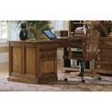 Hooker Furniture Brookhaven Peninsula Desk - Item Number: 281-10-411