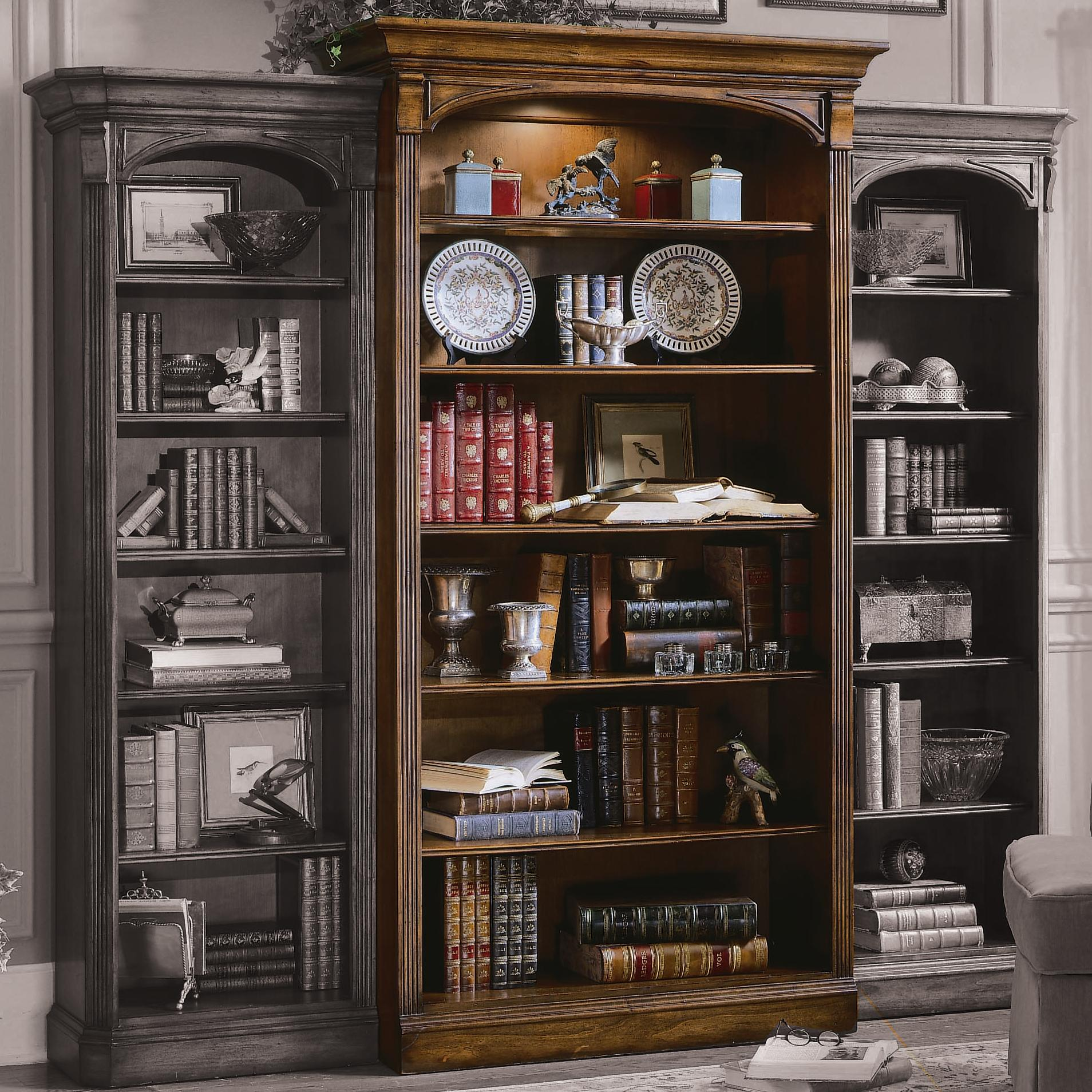 Hooker Furniture Brookhaven Bookcase - Item Number: 281-10-545