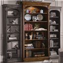 Hooker Furniture Brookhaven Open Bookcase with Six Shelves