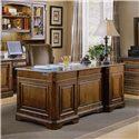 Hooker Furniture Brookhaven Executive Desk - 281-10-562