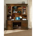 Hamilton Home Brookhaven Computer Credenza with Charging Station