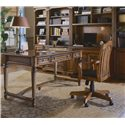 Hamilton Home Brookhaven Tilt Swivel Desk Chair - Shown with Table Desk