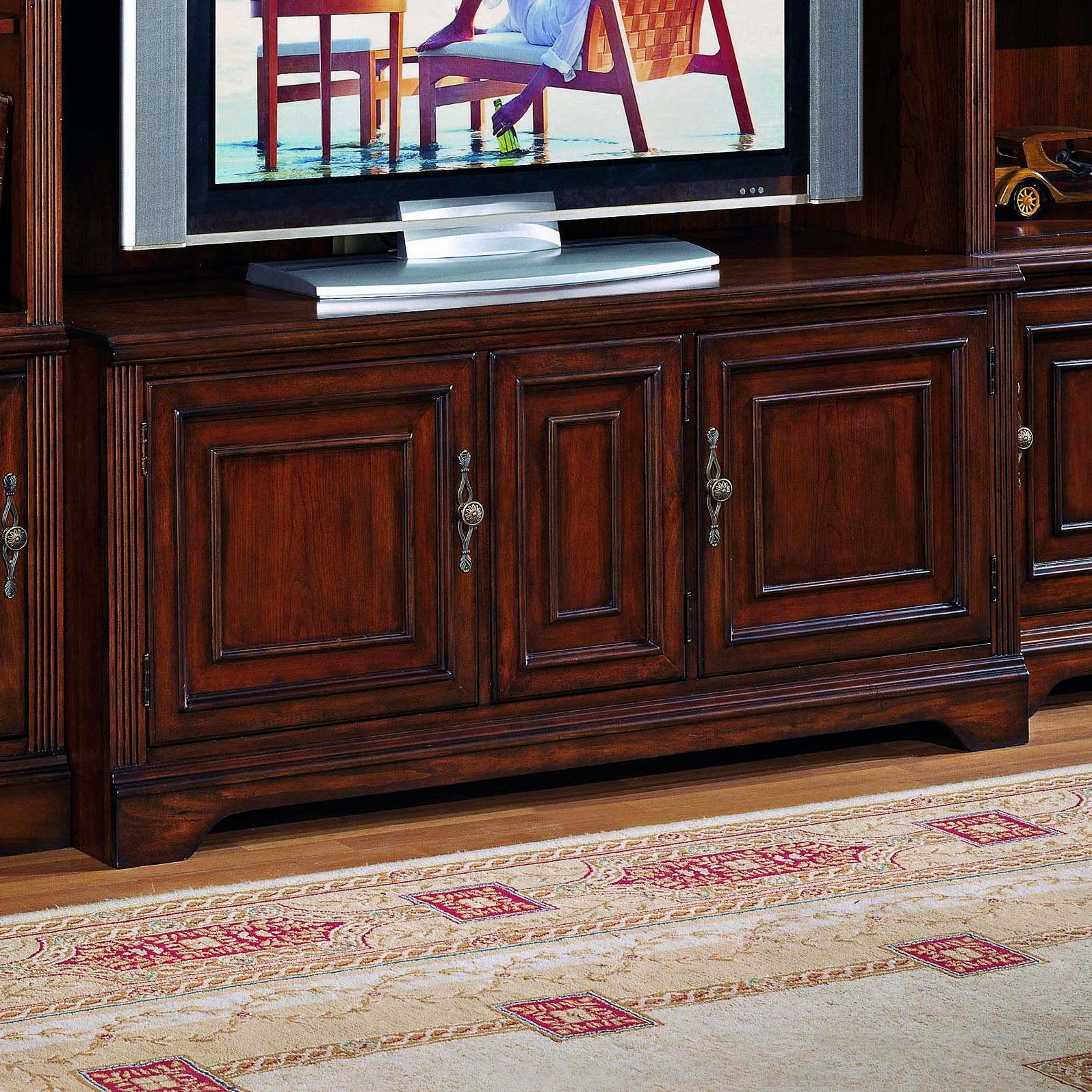 Brookhaven TV Console  by Hooker Furniture at Stoney Creek Furniture
