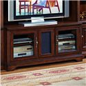 Hooker Furniture Brookhaven TV Console with Three Interchangeable Doors - 281-70-441 - Interchangeable Door Panels Bring You Final Finish Options