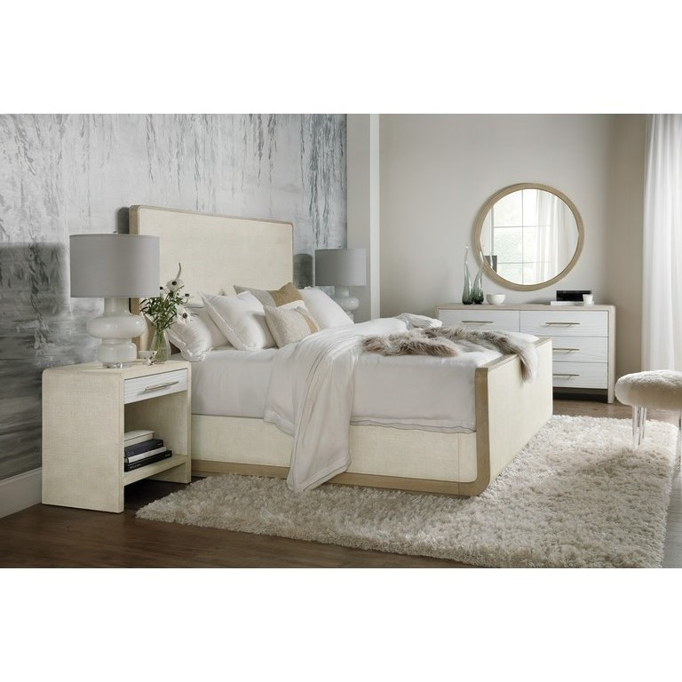 Cascade California King Bedroom Group by Hooker Furniture at Miller Waldrop Furniture and Decor