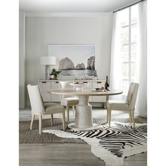 Cascade Dining Room Group by Hooker Furniture at Miller Waldrop Furniture and Decor