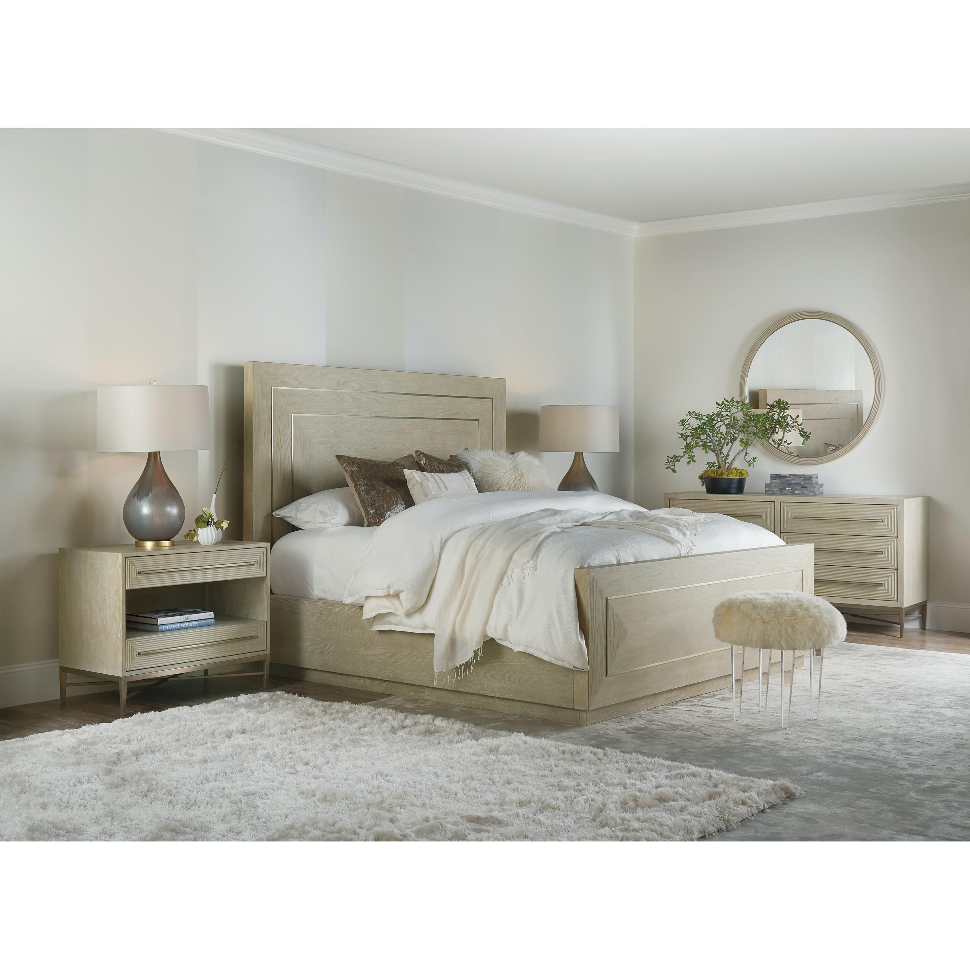 Cascade King Bedroom Group by Hooker Furniture at Baer's Furniture