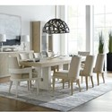 Hooker Furniture Cascade 9-Piece Table and Chair Set - Item Number: 6120-75200-80+2x75400-80+6x75410-80