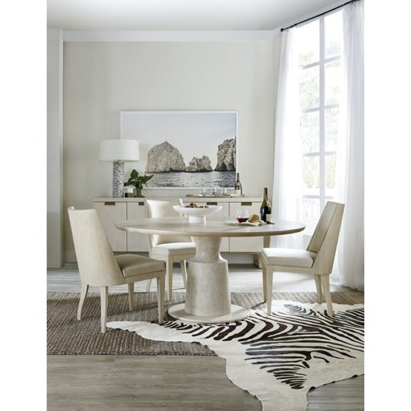 Cascade 5-Piece Table and Chair Set by Hooker Furniture at Baer's Furniture